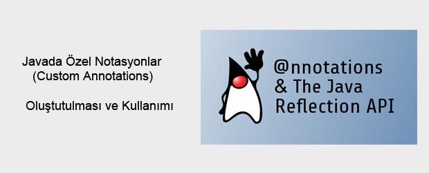 Merhaba arkadaşlar , Java da notasyonlar sınıf, method ve parametrelere özellik katmak için kullanılır. Notasyonlar Java 5'den beri Java ortamında kullanılan bir yapıdır. Örnek vericek olursak aklımıza ilk olarak @Override […]